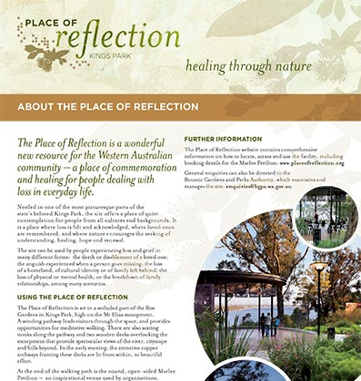 About the Place of Reflection