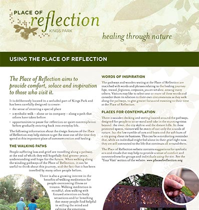Using the Place of Reflection